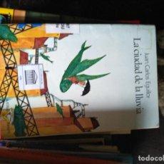 Libri di seconda mano: LA CIUDAD DE LA LLUVIA - EGUILLOR, JUAN CARLOS. Lote 171605160