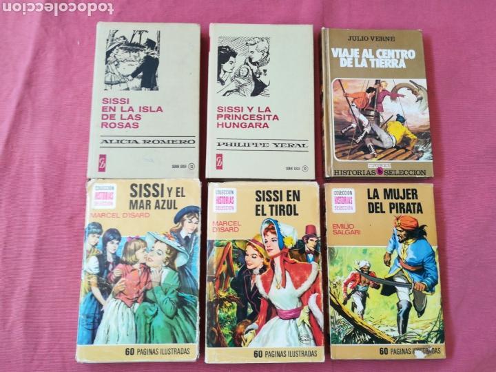 Libros de segunda mano: LOTE 12 LIBROS HISTORIAS SELECCIÓN - BRUGUERA - SISSI, JULIO VERNE, FLIPPER... - Foto 3 - 171599824