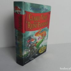 Libros de segunda mano: CUARTO VIAJE AL REINO DE LA FANTASÍA (GERONIMO STILTON) DESTINO-2010. Lote 172131899