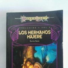 Libros de segunda mano: LOS HERMANOS MAJERE DRAGONLANCE. Lote 172252052
