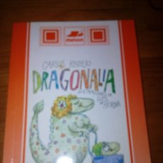 Libros de segunda mano: DRAGONALIA. CARLOS REVIEJO. ILUSTRACIONES DE LUIS DE HORNA. SUSAETA. EST15B5. Lote 172752465