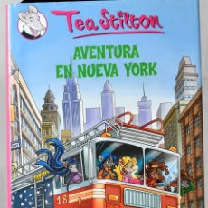 Libros de segunda mano: TEA STILTON, AVENTURA EN NUEVA YORK. Lote 172825442