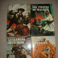 Libros de segunda mano: LOTE DE LIBROS CLASICOS DE LA JUVENTUD AÑOS 80S EDITORIAL ORTELLS EDIVAL. Lote 173153702