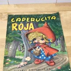 Libros de segunda mano: CAPERUCITA ROJA (GRANDES ALBUMES EVA). Lote 280003948