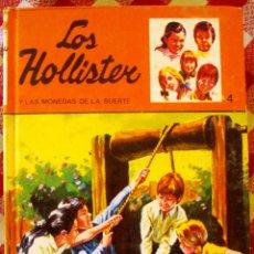 Libros de segunda mano: LIBRO LOS HOLLISTER NUNMERO 4 DE JERRRY WEST Y LAS MONEDAS DE LA SUERTE. Lote 174181209