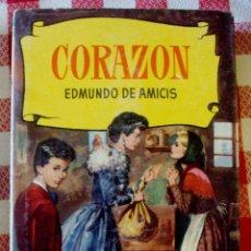 Libros de segunda mano: LIBRO AMICIS CORAZON CON 250 ILUSTRACIONES BRUGUERA. Lote 174182412