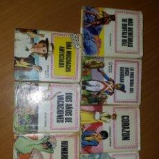 Libros de segunda mano: LOTE 7 LIBROS BRUGUERA NOVELA INFANTIL. Lote 174187699