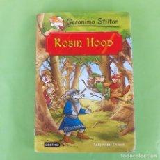 Libros de segunda mano: ROBIN HOOD GERONIMO STILTON. DESTINO, . Lote 174440859