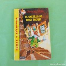Libros de segunda mano: EL CASTILLO DE ROCA TACAÑA GERONIMO STILTON. DESTINO, . Lote 174441034
