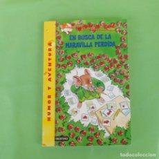 Libros de segunda mano: EN BUSCA DE LA MARAVILLA PERDIDA GERONIMO STILTON. DESTINO, . Lote 174441135