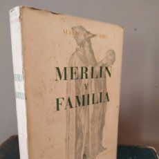 Libros de segunda mano: MERLÍN Y FAMILIA - CUNQUEIRO ÁLVARO EDITORIAL AHR. Lote 174960285