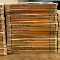 Libros de segunda mano: LOTE DE 54 TÍTULOS DE LA COLECCIÓN BIBLIOTECA JUVENIL SALVAT (1987). VER TÍTULOS EN FOTOGRAFÍAS.. Lote 175906755