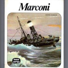 Libros de segunda mano: MARCONI - MARINA SUBIRATS - COLECCIÓN NUEVO AURIGA Nº 53 - AFHA INTERNACIONAL - 1979. Lote 176130762