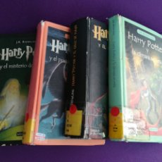 Libros de segunda mano: LOTE LIBROS HARRY POTTER. EMECE SALAMANDRA CÍRCULO.. Lote 177131849