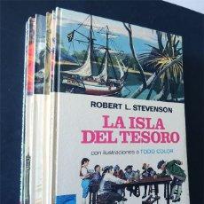 Libros de segunda mano: 7 CLASICOS ILUSTRADOS PARA JOVENES / ED. BRUGUERA - PALMA DE ORO AÑO 1977 / TAPA DURA / SIN USAR. Lote 177641784