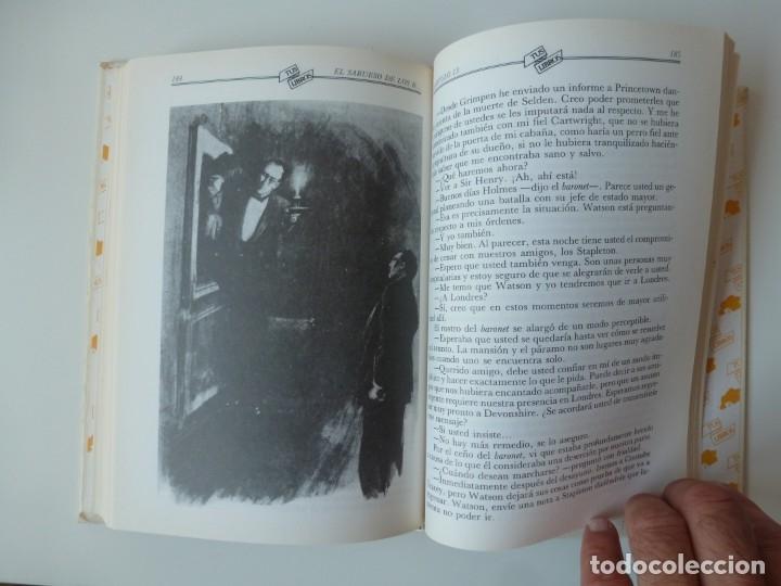 Libros de segunda mano: EL SABUESO DE LOS BASKERVILLE. A. CONAN DOYLE. ANAYA TUS LIBROS Nº 90 - Foto 3 - 177785839