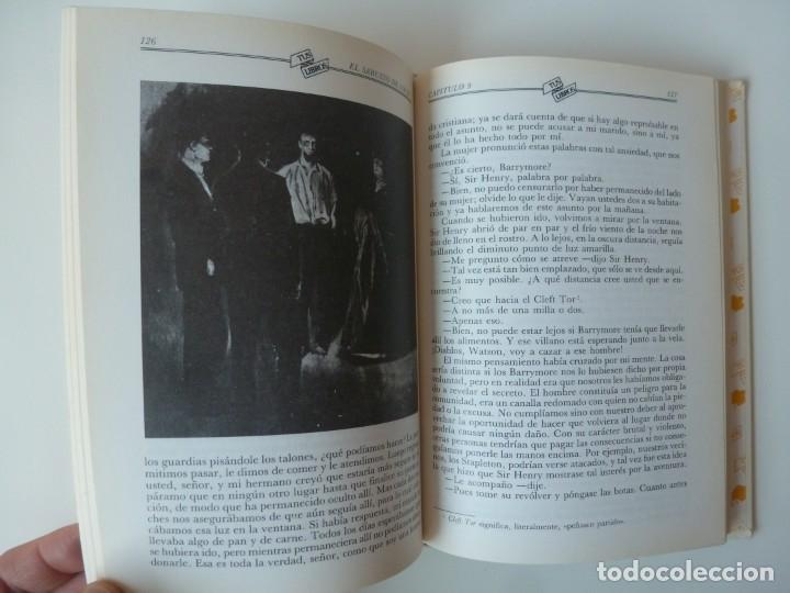 Libros de segunda mano: EL SABUESO DE LOS BASKERVILLE. A. CONAN DOYLE. ANAYA TUS LIBROS Nº 90 - Foto 4 - 177785839