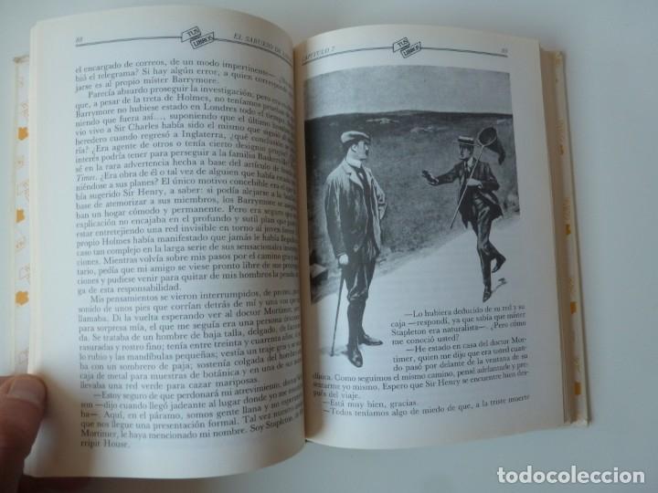 Libros de segunda mano: EL SABUESO DE LOS BASKERVILLE. A. CONAN DOYLE. ANAYA TUS LIBROS Nº 90 - Foto 6 - 177785839