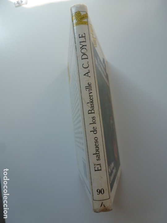Libros de segunda mano: EL SABUESO DE LOS BASKERVILLE. A. CONAN DOYLE. ANAYA TUS LIBROS Nº 90 - Foto 7 - 177785839
