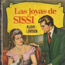 Libros de segunda mano: ALIDA LARSEN. LAS JOYAS DE SISSI. COLECCION HISTORIAS Nº 147. CON SOBRECUBIERTA. Lote 178175103