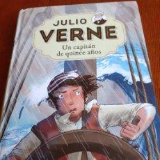 Libros de segunda mano: JULIO VERNE - UN CAPITÁN DE QUINCE AÑOS - RBA MOLINO 2018. Lote 178283625