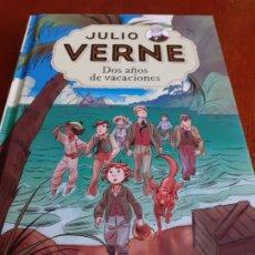 Libros de segunda mano: JULIO VERNE - DOS AÑOS DE VACACIONES - RBA MOLINO 2017. Lote 178283690