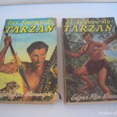 Libros de segunda mano: DOS DE TARZAN EL TESORO DE TARZAN Y LAS FIERAS DE TARZAN. Lote 178892903