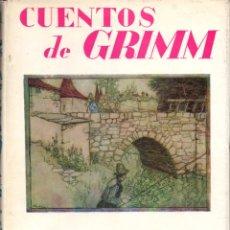 Libros de segunda mano: CUENTOS DE GRIMM ILUSTRADOS POR ARTHUR RACKHAM (JUVENTUD, 1962) FORMATO GRANDE. Lote 178969172