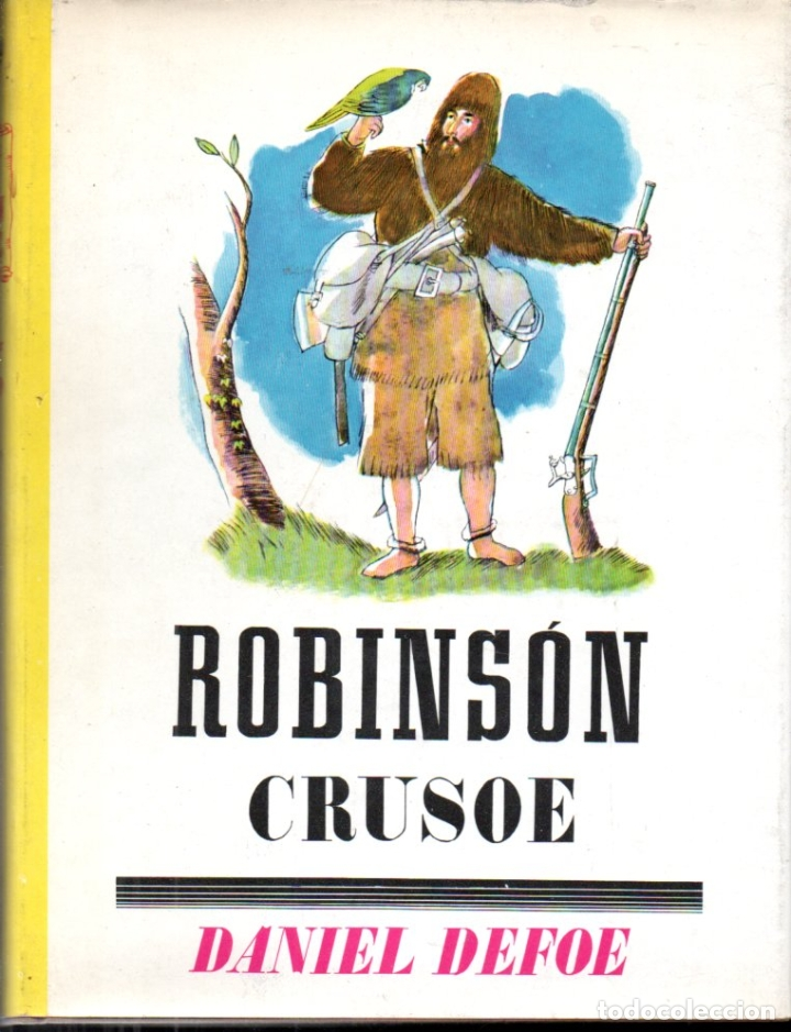 DANIEL DEFOE : ROBINSON CRUSOE (JUVENTUD, 1960) FORMATO GRANDE (Libros de Segunda Mano - Literatura Infantil y Juvenil - Novela)