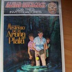 Libros de segunda mano: ALFRED HITCHCOCK Y LOS TRES INVESTIGADORES. MISTERIO DE LA ARAÑA DE PLATA. NM 8. Lote 179351501
