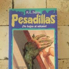 Libros de segunda mano: PESADILLAS N 5. R.L.STINE . NO BAJES AL SÓTANO.. Lote 179525436