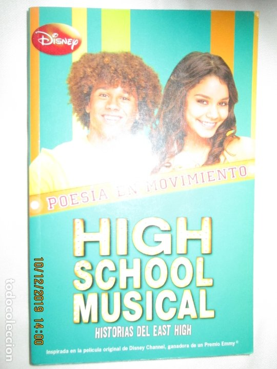 Libros de segunda mano: HIGH SCHOOL MUSICAL 3 - POESÍA EN MOVIMIENTO - DISNEY 2008. - Foto 1 - 180126072