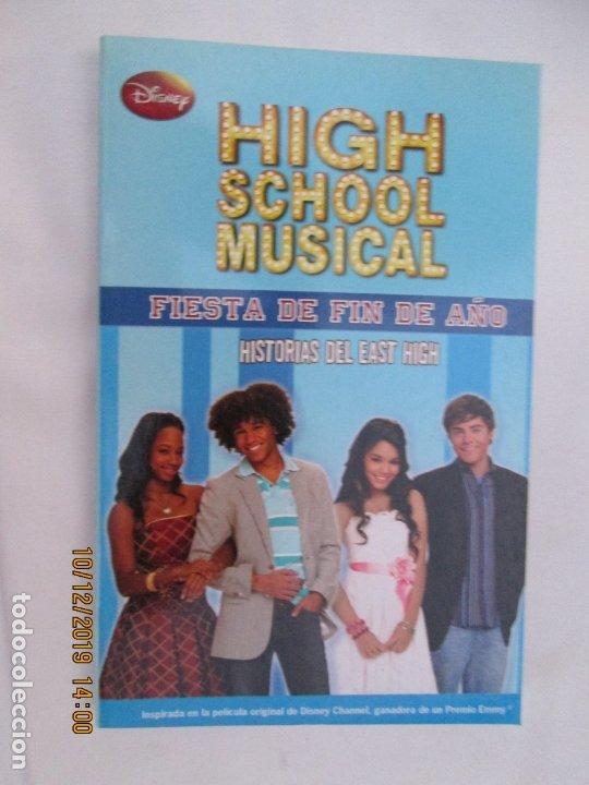 HIGH SCHOOL MUSICAL 9 - FIESTA DE FIN DE AÑO - DISNEY 2009. (Libros de Segunda Mano - Literatura Infantil y Juvenil - Novela)