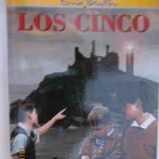 Libros de segunda mano: LOS CINCO ENID BLYTON Nº 5 LOS CINCO OTRA VEZ EN LA ISLA DE KIRRIN EDITORIAL JUVENTUD . Lote 180189808