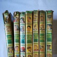 Libros de segunda mano: 7 TÍTULOS DE LA COLECCIÓN HISTORIAS DE BRUGUERA 1957-1960. VERNE, DICKENS,.... Lote 180284683