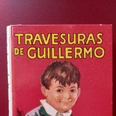 Libros de segunda mano: TRAVESURAS DE GUILLERMO.- RICHMAL CROMPTON. Lote 181322661