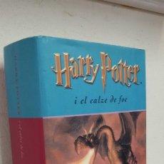 Libros de segunda mano: HARRY POTTER I EL CALZE DE FOC J.K.ROWLING. Lote 181468896