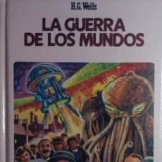 Libros de segunda mano: LA GUERRA DE LOS MUNDOS / H. G. WELLS. ALCOBENDAS : GRAFALCO, 1988. (CLÁSICOS JUVENILES ; 43). . Lote 181942345