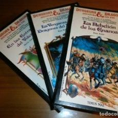 Libros de segunda mano: DUNGEONS & DRAGONS - Nº 5,6,17 - EDITORIAL TIMUN MAS - AÑOS 80.. Lote 182099582