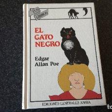 Libros de segunda mano: 6-EL GATO NEGRO, EDGAR ALLAN POE, TUS LIBROS ANAYA. Lote 182430425