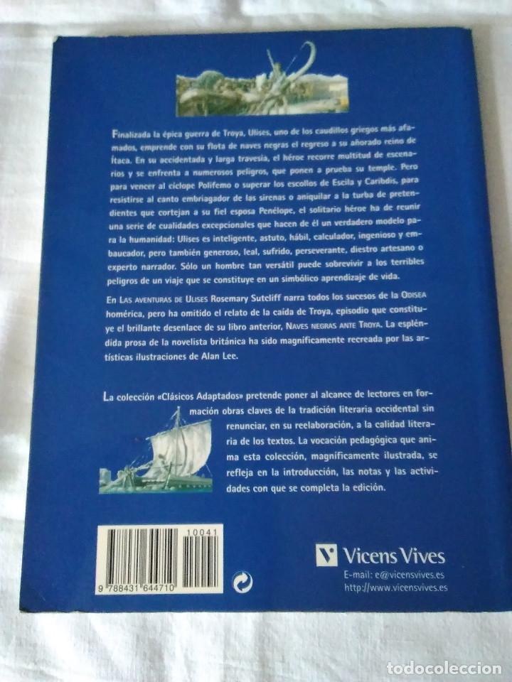 Libros de segunda mano: 123-LAS AVENTURAS DE ULYSES, La historia de la Odisea, Homero, Rosemary Sutcliff,2003,ilustrado - Foto 2 - 182430676