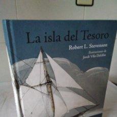 Libros de segunda mano: 132-LA ISLA DEL TESORO, ROBERT L. STEVENSON, MUY ILUSTRADO, 2014. Lote 182430725