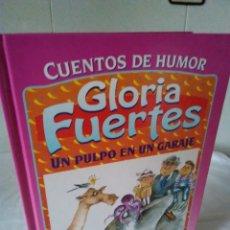 Libros de segunda mano: 133-CUENTOS DE HUMOR, GLORIA FUERTES, UN PULPO EN EL GARAJE, 1995. Lote 182430747