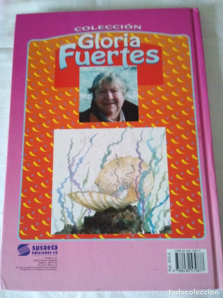 Libros de segunda mano: 133-CUENTOS DE HUMOR, GLORIA FUERTES, Un pulpo en el garaje, 1995 - Foto 2 - 182430747