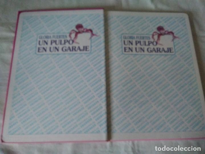 Libros de segunda mano: 133-CUENTOS DE HUMOR, GLORIA FUERTES, Un pulpo en el garaje, 1995 - Foto 3 - 182430747