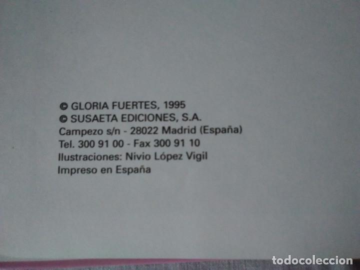 Libros de segunda mano: 133-CUENTOS DE HUMOR, GLORIA FUERTES, Un pulpo en el garaje, 1995 - Foto 4 - 182430747