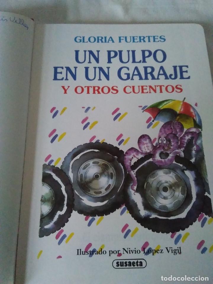 Libros de segunda mano: 133-CUENTOS DE HUMOR, GLORIA FUERTES, Un pulpo en el garaje, 1995 - Foto 5 - 182430747