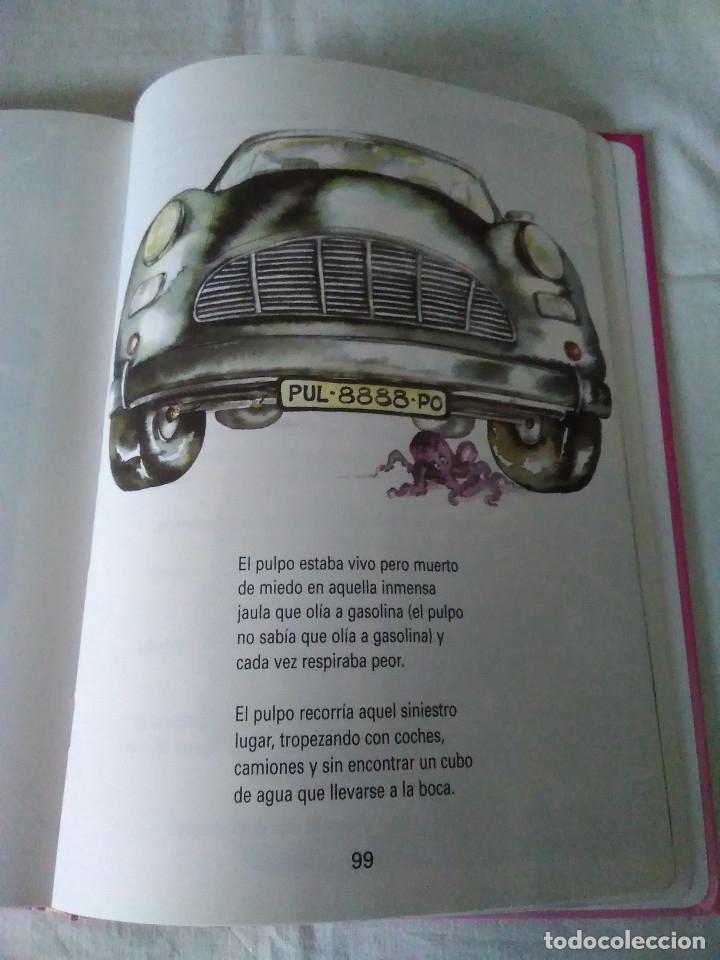 Libros de segunda mano: 133-CUENTOS DE HUMOR, GLORIA FUERTES, Un pulpo en el garaje, 1995 - Foto 10 - 182430747
