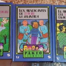 Libros de segunda mano: LOTE 3 LIBROS PAKTO SECRETO - INFIERNO VERDE - MEDICANTES DE LA ATLÁNTIDA - MISTERIO DEL DRAGÓN. Lote 183304341