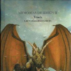 Libros de segunda mano: MEMORIAS DE IDHÚN - II - TRIADA - LAURA GALLEGO. TAPA DURA CON SOBRECUBIERTAS. V. Lote 183515831